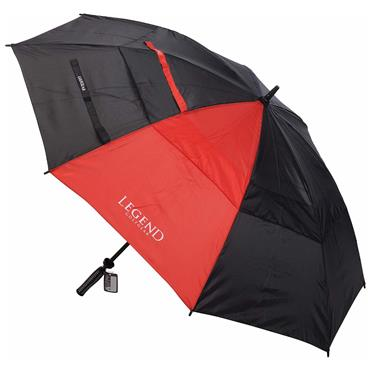 Legend Golfgear Storm Umbrella  Black/Red