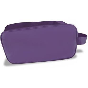 Surprizeshop Ladies Embroidered Golfer Shoe Bag  Purple