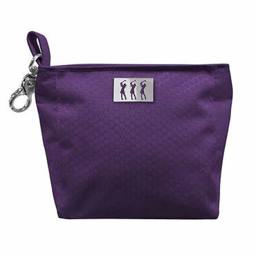 Surprizeshop Honeycomb Clip Handbag  Purple
