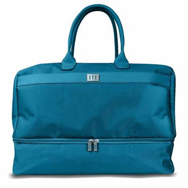 Surprizeshop Honeycomb Holdall with Shoe Compartment  Aqua
