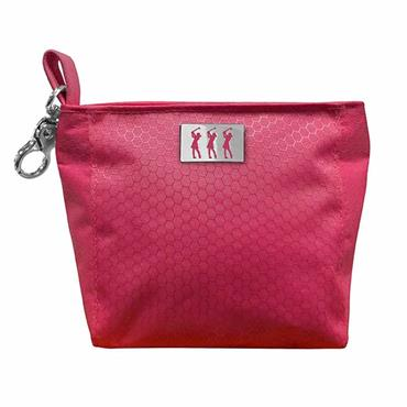 Surprizeshop Honeycomb Clip Handbag  Pink