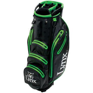 Lynx Prowler Waterproof Cart Bag  Black/Green