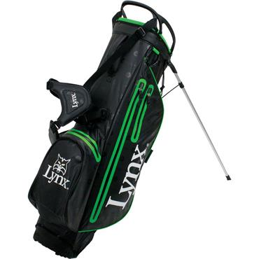 Lynx Prowler Waterproof Stand Bag  Black/Green
