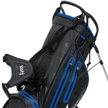 Lynx Prowler Waterproof Stand Bag  Black/Blue