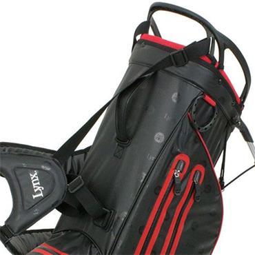 Lynx Prowler Waterproof Stand Bag  Black/Red