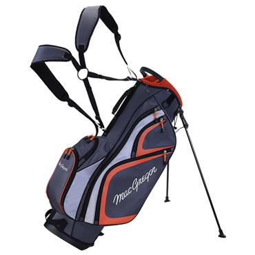 "MacGregor TP-1 9"" Stand Bag  Grey/Orange"