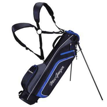 """MacGregor TP-1 6.5"""" Dual Strap Stand Bag  Black/Blue"""