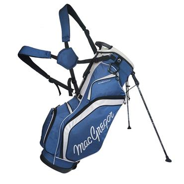 "MacGregor Response 9"" Stand Bag  Black/Blue"