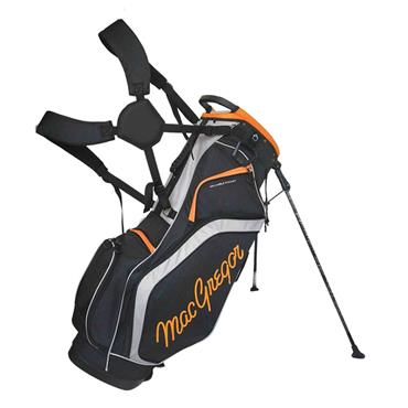 "MacGregor Response 9"" Stand Bag  Black Orange"