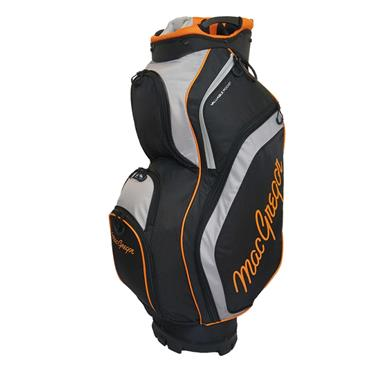 "MacGregor Response 9.5"" Cart Bag  Black Orange"