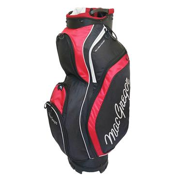 "MacGregor Response 9.5"" Cart Bag  Black/Red"