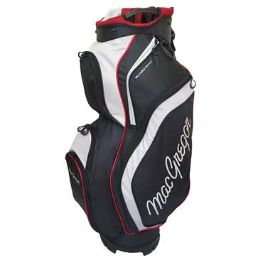 "MacGregor Response 9.5"" Cart Bag  Black Silver"