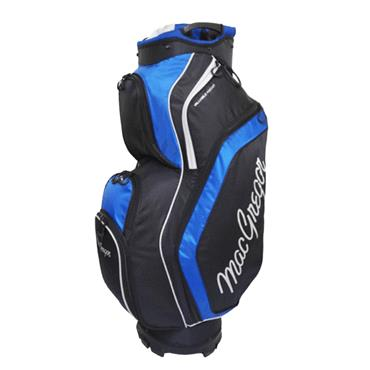 "MacGregor Response 9.5"" Cart Bag  Black/Blue"