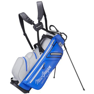 "MacGregor Water Resistant 9.5"" Stand Bag  Blue Silver"