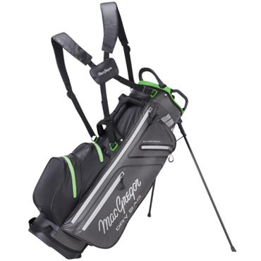 "MacGregor Water Resistant 9.5"" Stand Bag  Charcoal/Black"