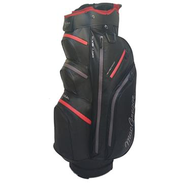 "MacGregor Mactec Water Repellent 10"" Cart Bag  Black"