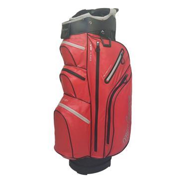 "MacGregor Mactec Water Repellent 10"" Cart Bag  Red"