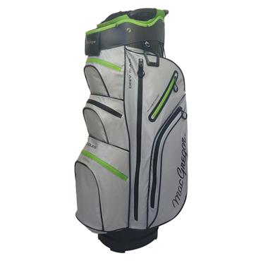 "MacGregor Mactec Water Repellent 10"" Cart Bag  Silver"