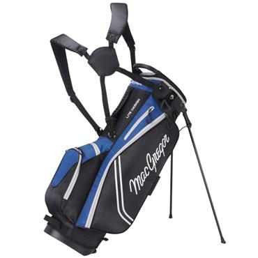 "MacGregor Response ZT Lite 9"" Stand Bag  Black - Royal"