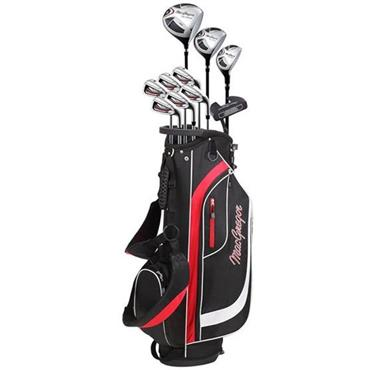 MacGregor CG2000 Graph Cart 6-SW Package Set Gents Right Hand Black/Red