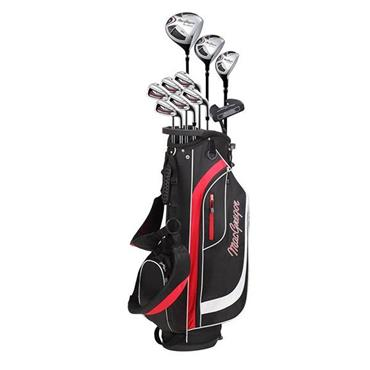 MacGregor CG2000 Steel Cart 6-SW Package Set Gents Right Hand Black/Red