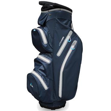 Masters Golf Tour Dri W/P Trolley Bag  Navy/Grey