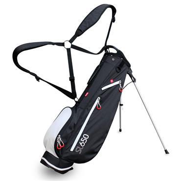 Masters Golf SL650 Stand Bag  Black White