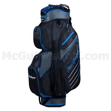 """MacGregor Tourney Plus 10"""" Cart Bag Black - Blue"""