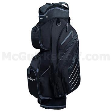 "MacGregor Tourney Plus 10"" Cart Bag  Black"