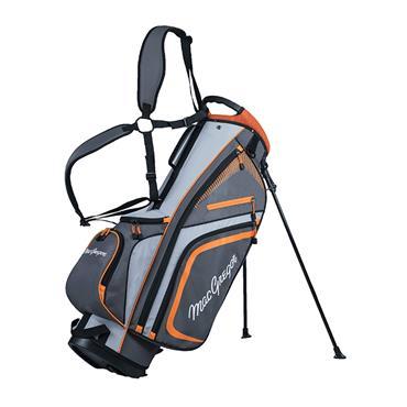 "MacGregor Tourney Plus 9"" Stand Bag  Charcoal/Orange"