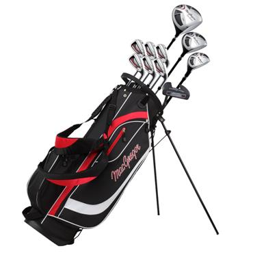 MacGregor CG2000 6-SW Package Set Gents Right Hand Black/Red
