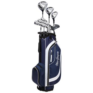 MacGregor CG2000 7-SW Cart Bag Package Set Ladies Left Hand Navy - White