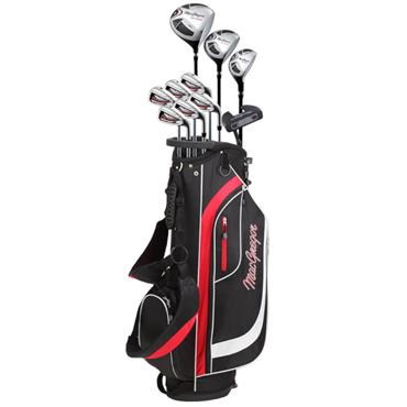 MacGregor CG2000 Graph Stand 6-SW Package Set Gents Right Hand Black/Red