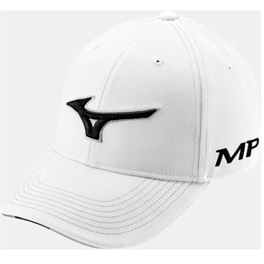 Mizuno Tour Cap  White - Black