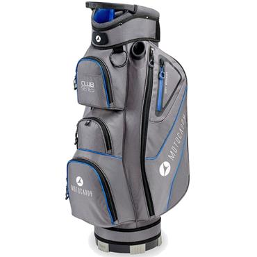 Motocaddy Club Series Cart Bag  Charcoal/Blue