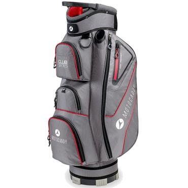 Motocaddy Club Series Cart Bag  Charcoal/Red