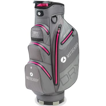 Motocaddy Dry Series Cart Bag  Charcoal - Fuchsia