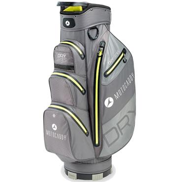 Motocaddy Dry Series Cart Bag  Charcoal/Lime