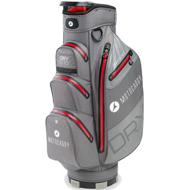 Motocaddy Dry Series Cart Bag  Charcoal/Red