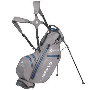 Motocaddy Hydroflex Stand Bag  Charcoal/Blue