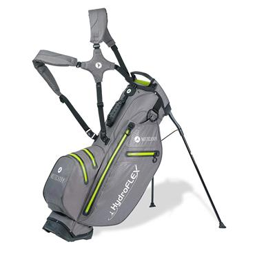 Motocaddy Hydroflex Stand Bag  Charcoal/Lime