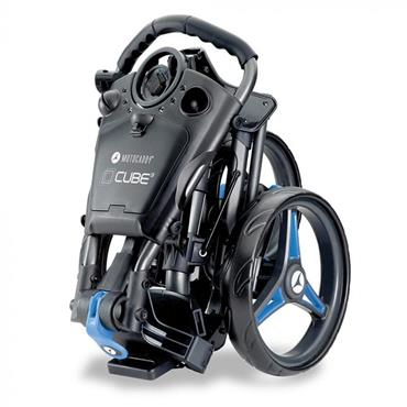Motocaddy Cube Push Trolley  Blue