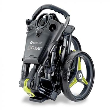 Motocaddy Cube Push Trolley  Lime