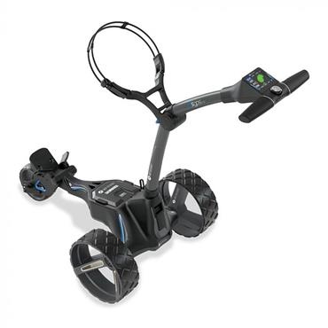 Motocaddy M5 GPS DHC w/18 Hole Lithium Battery  Graphite