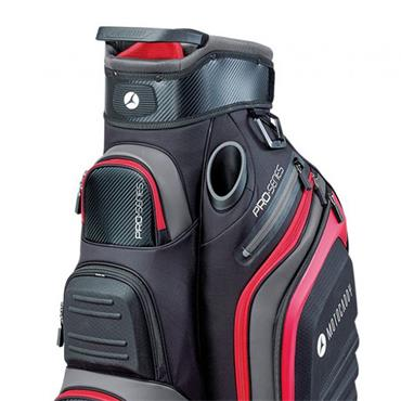 Motocaddy Pro Series Cart Bag  Black/Red