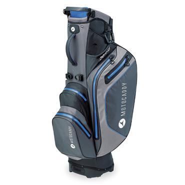 Motocaddy Hydroflex Stand Bag  Charcoal/Blue