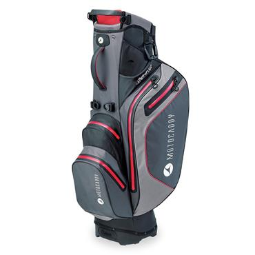 Motocaddy Hydroflex Stand Bag  Charcoal/Red