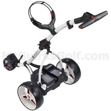 Motocaddy S1 Electric Trolley 18 Hole Lithium Battery Alpine White