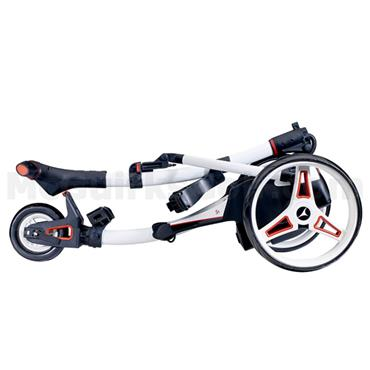 Motocaddy S1 Electric Trolley 36 Hole Lithium Battery Alpine White