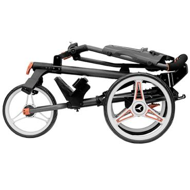 Motocaddy P1 Push Trolley  Red